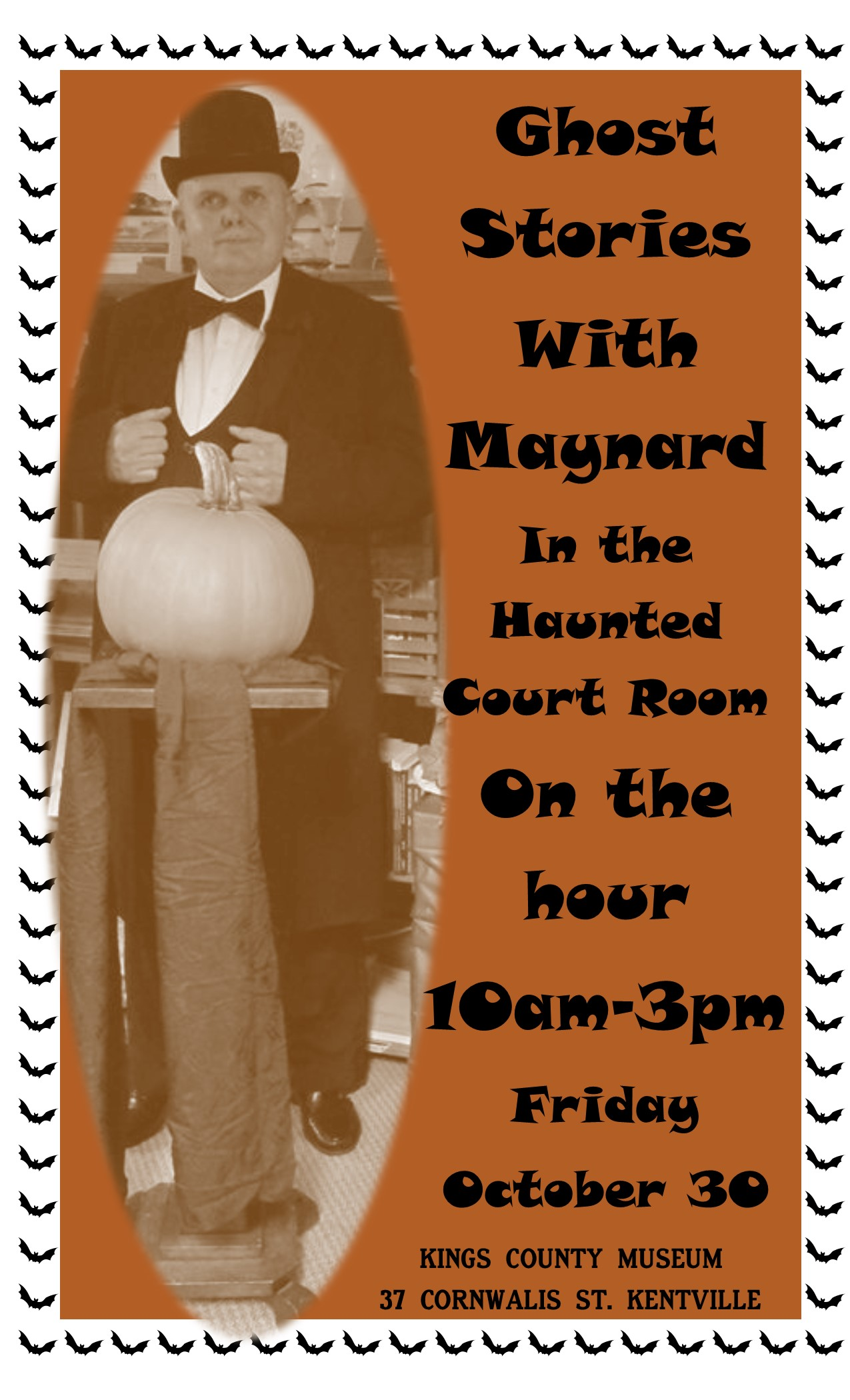 Ghost Stories with MaynardKings County Museum