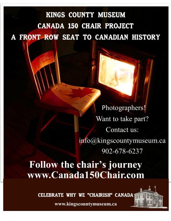 Canada 150 chair