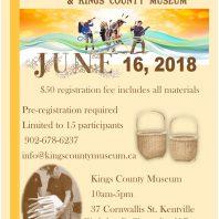 basketry workshop with KBC