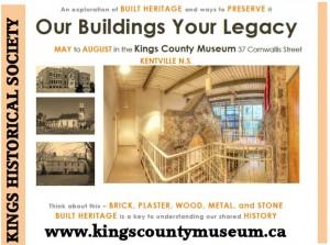 built heritage poster